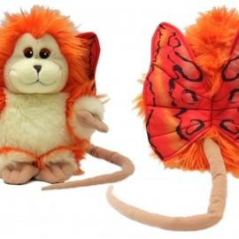 New Captain EO Plush Fuzzball