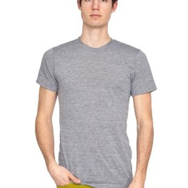 American Apparel - Tri-Blend Short Sleeve Track Shirt