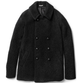 BOTTEGA VENETA - Double-Breasted Boiled-Wool Coat