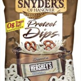 Snyder's - White Fudge Pretzel Dip