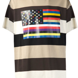 givenchy - black striped tshirt