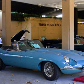Jaguar - 1968 Jaguar XKE OTS - light blue Cabriolet