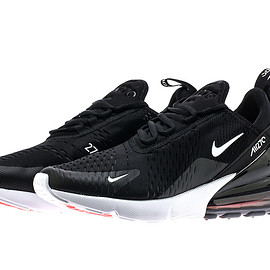 NIKE - Air Max 270 - Black/White/Hot Punch?