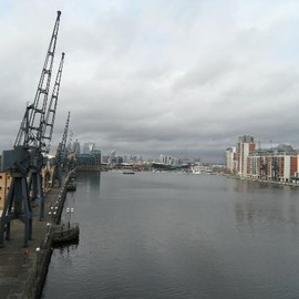 Docklands London - Crowne Plaza London - Docklands: view on the waterfront