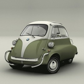 BMW - :: the Isetta , 1962 ::
