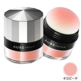 AUBE couture - デザイニングパフィーチーク 412ピーチ