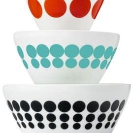 Pyrex - Vintage Charm inspired by Spotted Too 6-Pc. Mixing Bowl Set
