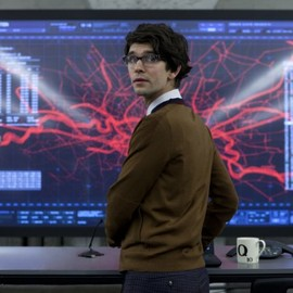 "Sam Mendes, 007 - ""Q"" Still of Ben Whishaw in Skyfall"