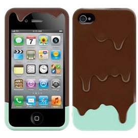 SwitchEasy - SwitchEasy Melt for iPhone 4S/4 プレアデスダイレクト限定品 Choco Mint