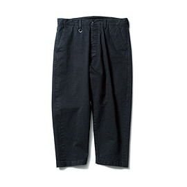 SOPHNET. - CROPPED WIDE TAPERD PANT