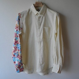 SASQUATCHfabrix  - Eototo Flower Panel Shirt