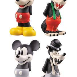 NEIGHBORHOOD, MEDICOM TOY - VCD MICKEY MOUSE & BIG BAD WOLF SET