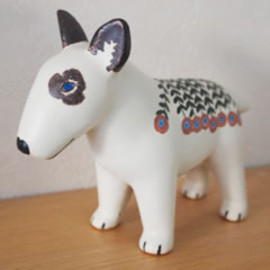 Lisa Larson - BLUE TERRIER