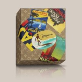 LOUIS VUITTON - THE ART OF TRAVEL THROUGH HOTEL LABELS