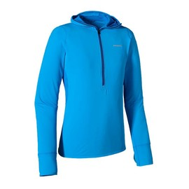 Patagonia - All Weather Zip-Neck Hoody - Andes Blue ANDB