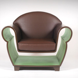 Straight Line Designs Inc. - Hollowed Out Armchair