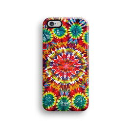 Decouart - Tie dyed iPhone 6+ case, iPhone 6 case