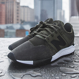 New Balance - 247 - Olive/Black/White