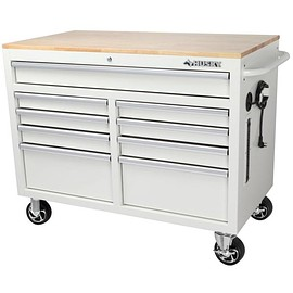 Husky - 46 inch 9-Drawer Mobile Workbench