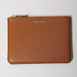 COMME DES GARCONS - TEXTURED LEATHER DOCUMENT WALLET
