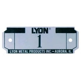 Lyon - Number Plate
