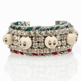 Venessa Arizaga - talking heads bracelet