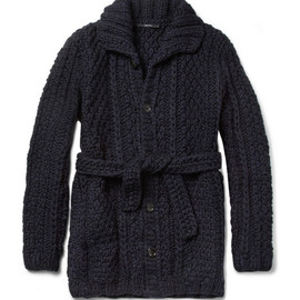 Gucci - Chunky-Knit Wool Cardigan