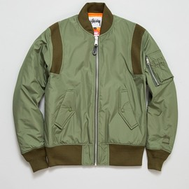 Stussy - Windstopper MA-1 Jacket - Olive