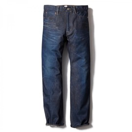 HEAD PORTER PLUS - USED DENIM PANTS