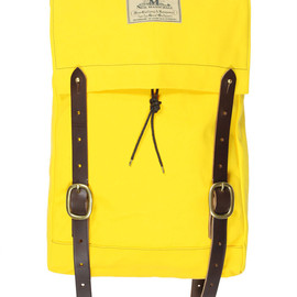 SEIL MARSCHALL - Canvas Yellow Mini Canoe Rucksack