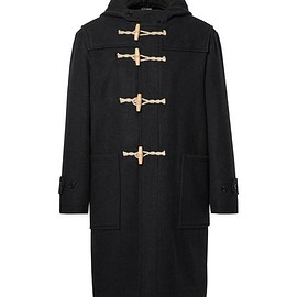 Margaret Howell - MHL Melton Wool Hooded Duffle Coat