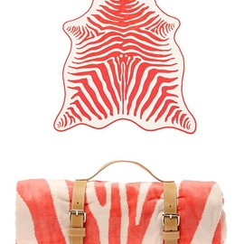 MASLIN - Zebra Hide Beach Towel