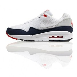 Nike - Air Max 1 EM - White/Navy/Red
