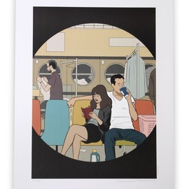 """Adrian Tomine - IN THE CITY / POSTER """"Favorite Shirt"""""""