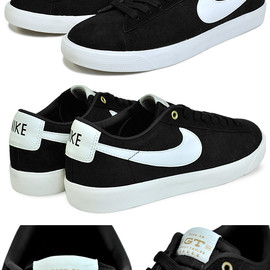 NIKE SB - Blazer Low GT QS - Black/Sail