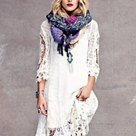 Free People - Mi Amore Lace Dress in clothes-dresses