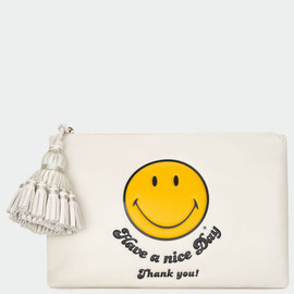 ANYA HINDMARCH - Smiley Georgiana Clutch