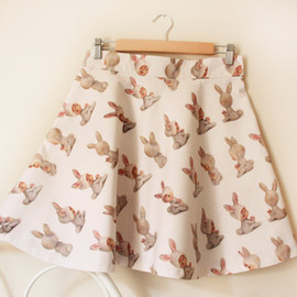 CaitlinShearer - The Bunny Angel skirt - limited edition - medium