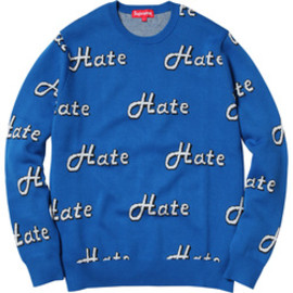 supreme - Hate knit