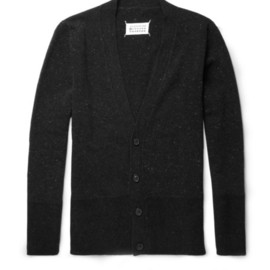 Maison Martin Margiela 10 - Two-Tone Wool Cardigan