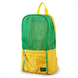 """HEAD PORTER - RIO """"DAY PACK"""" YELLOW"""