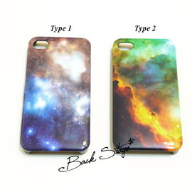 BACKSTAGE - Image of Galaxy Cosmic Print iPhone 4 4s Case