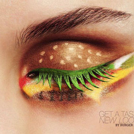 BURGER KING - Burger eye makeup