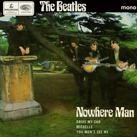 The Beatles - Nowhere Man ep (japan)