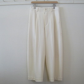 aseedoncloud - wide trousers white