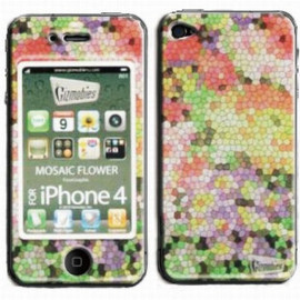 Gizmobies - [JS-0019-P4] MOSAIC FLOWER (iPhone4 ケース)