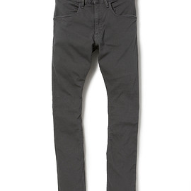 nonnative - DWELLER TIGHT FIT JEANS C/P PIQUE STRETCH OVERDYED