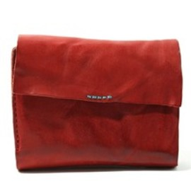 Paul Smith Red Ear - PJ LIMITED EDITION / WASHED LEATHER BILLFOLD AND COIN WALLET