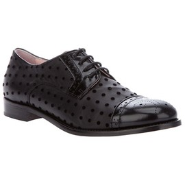 RED VALENTINO - LACE-UP BROGUE