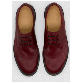 Dr Martens - Cherry red hair on horsey